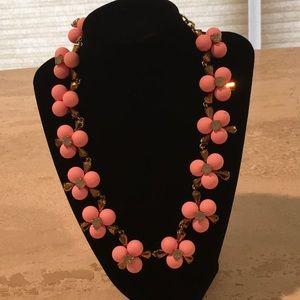 J Crew Pink Statement Necklace